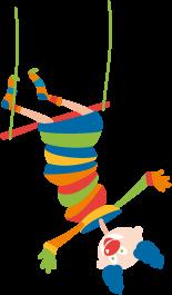 cours de cirque - Trapèze