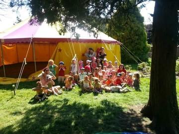 semaine cirque chapiteau