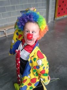 clown enfants cirque