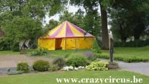 Chapiteau de cirque original